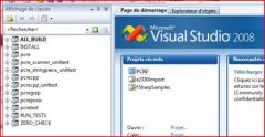 Visual Studio 2008 with pcre